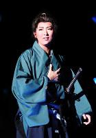 「夢現無双」で宮本武蔵を演じる月組トップスターの珠城りょう=宝塚大劇場で、梅田麻衣子撮影