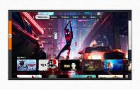 アップルが発表した動画配信の定額サービス「アップルTV+(プラス)」のイメージ=アップル提供