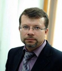 ロシア・ラグビー協会広報誌「RUGBY]編集人のアンドレイ・ゾーリンさん=ロシア・ラグビー協会提供