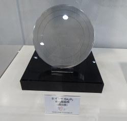 6インチ酸化ガリウムウエハー(ノベルクリスタルテクノロジー製)