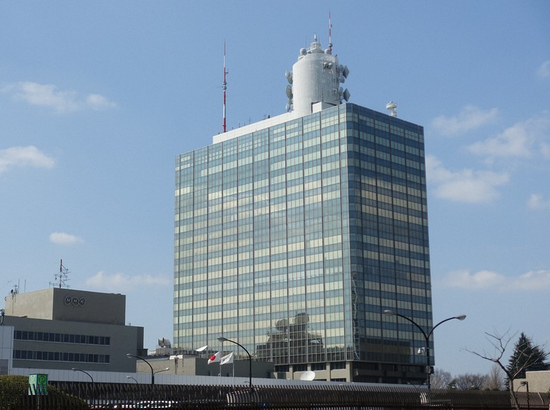 NHK放送センター=東京都渋谷区で2019年3月、嶋野雅明撮影