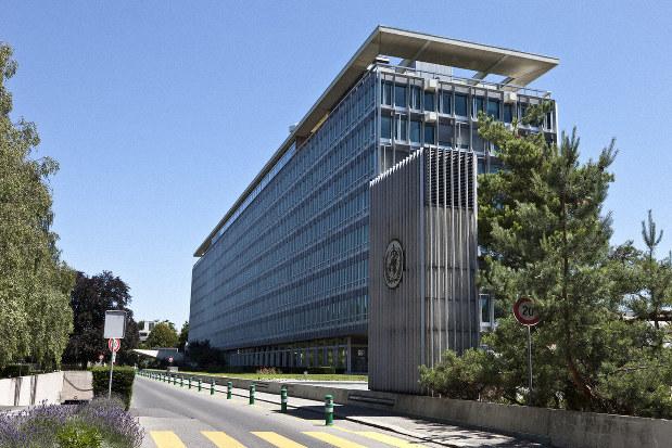 スイス・ジュネーブにある世界保健機関(WHO)の本部