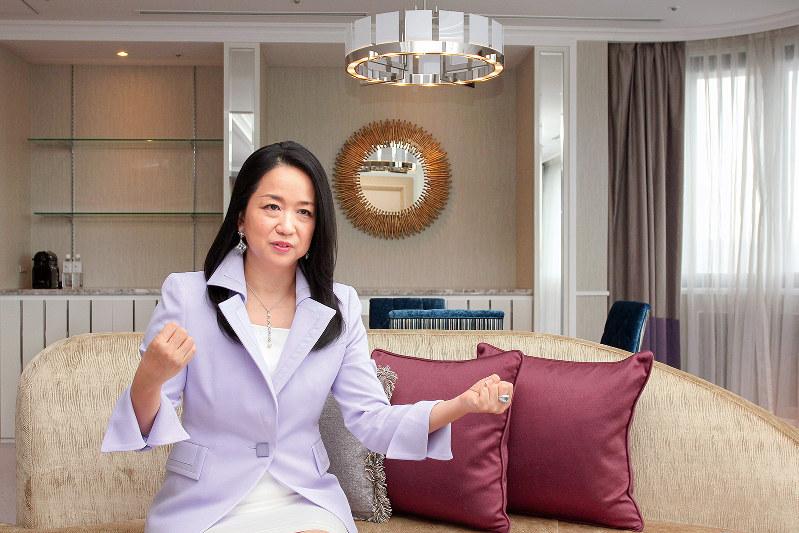Interviewer 藤枝克治 Photo 中村琢磨:東京都品川区の東京マリオットホテルで