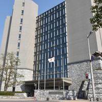 高知県警本部=高知市丸ノ内2で2019年2月26日、北村栞撮影