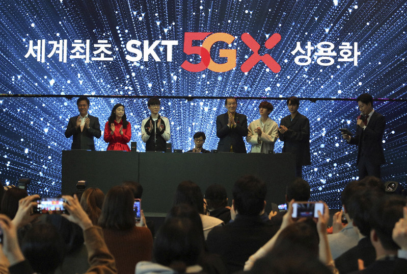 S  Korea launches 5G smartphone networks ahead of schedule