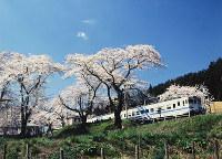 石川県・能登鹿島駅 写真・池端滋さん