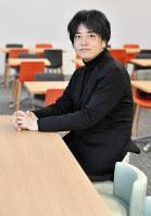 中村文則さん=名古屋市中村区で2018年2月17日、木葉健二撮影