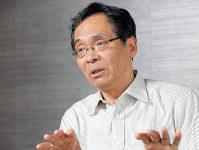 広岡守穂教授=長谷川直亮撮影