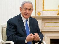 イスラエルのネタニヤフ首相=モスクワで4日、ロイター