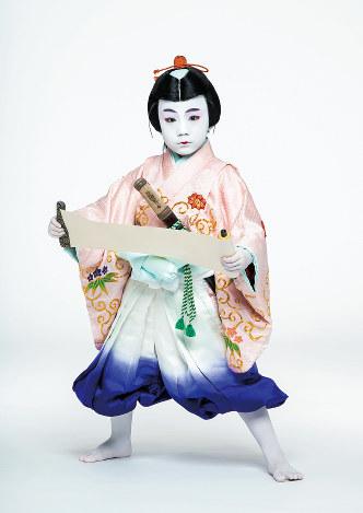 七代目尾上丑之助を襲名する寺嶋和史(松竹提供)