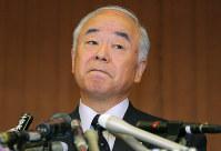 久間章生氏▼2007年6月=講演で、米国の原爆投下を「しょうがない」と発言