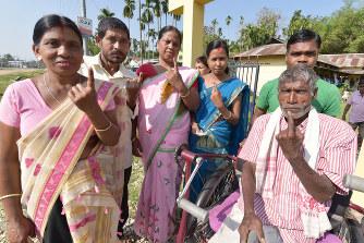 インド総選挙、投票始まる 有権...