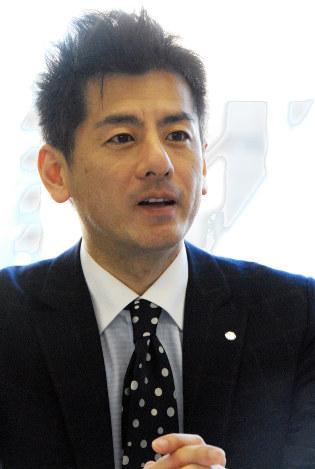 「急激な成長より、着実な成長をしたい」と語るシャボン玉石けんの森田隼人社長