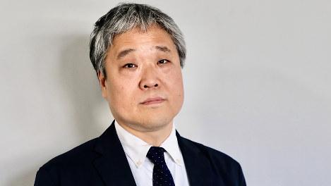 須藤孝・政治プレミア編集長=岡本同世撮影