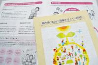 和歌山県橋本市の条例の内容を紹介するパンフレットも全世帯に配布された=松野和生撮影