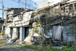 倒壊の恐れがある所有者不明の空き家