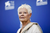 In this Sept. 3, 2017 file photo, actress Judi Dench poses during a photo call for the film