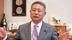 馬場伸幸氏=藤井太郎撮影