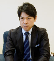 白鶴酒造の嘉納健二社長=神戸市東灘区で、大道寺峰子撮影