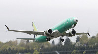 In this April 10, 2019 file photo, a Boeing 737 MAX 8 airplane being built for India-based Jet Airways, takes off on a test flight at Boeing Field in Seattle. (AP Photo/Ted S. Warren)