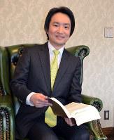「コールグリーン法律事務所」代表の弁護士で、麻雀プロでもある津田岳宏さん=京都市中京区で、大東祐紀撮影