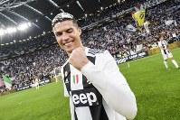 リーグ制覇の喜びを語ったクリスティアーノ・ロナウド [写真]=Juventus FC via Getty Images