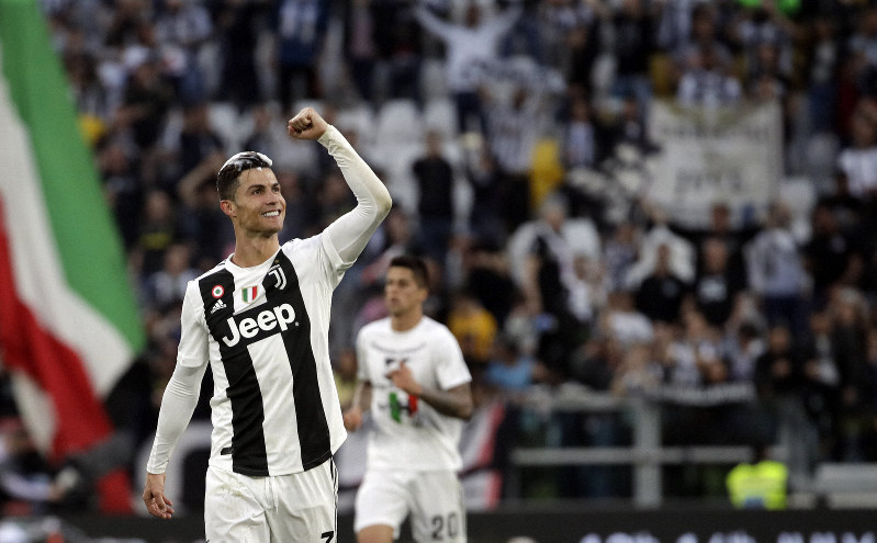 Serie A: Ronaldo plays key role as Juventus wins 8th straight title