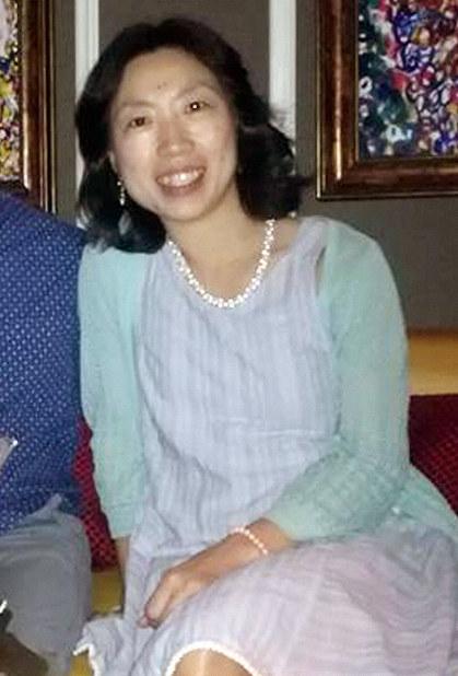 Kaori Takahashi is seen on a Facebook page.