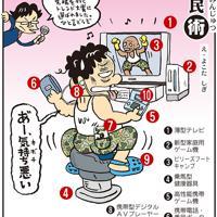 「ヒット商品」テレビやゲームなどのヒット商品。健康にも気をつけて=平成19(2007)年10月6日掲載
