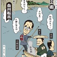 「白川船出」空席が続いた日銀総裁に白川方明氏が就任=平成20(2008)年4月12日掲載