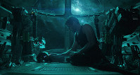 This image released by Disney shows Robert Downey Jr. in a scene from