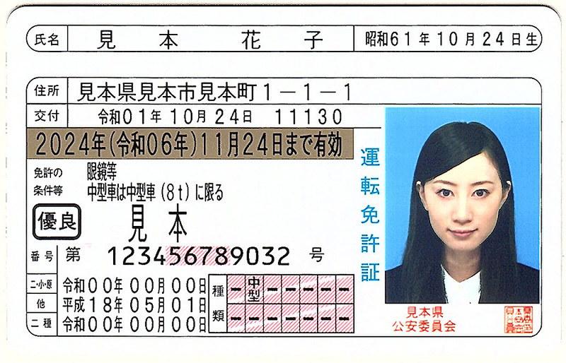 運転免許証:西暦と元号併記、来月から交付 /滋賀   毎日新聞