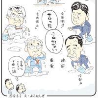 「事故調自己チュー」福島原発事故の初動を巡り、当時の政府側と東電の意見が対立=平成24(2012)年6月2日掲載