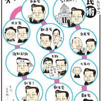 「オザワすごろく」小沢一郎氏が、同氏を支持するグループ党員とともに民主離党。事実上の分裂となった=平成24(2012)年6月30日掲載