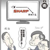 「シャープと鴻海」業績見通しの悪化を発表したシャープの株が一時ストップ安に=平成24(2012)年8月11日掲載
