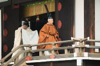 Emperor Akihito completes the