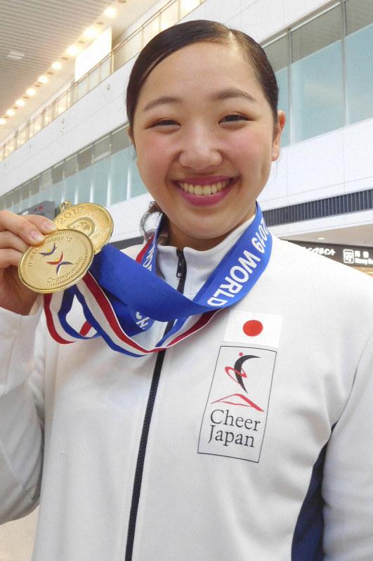 競泳・瀬戸大也の妹、美琴 チアで金メダル「私も世界一目指した」 | 毎日新聞