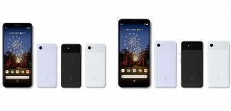 カメラ性能を維持したまま価格を抑えた「ピクセル3a」(左)と「ピクセル3a XL」(Google提供)