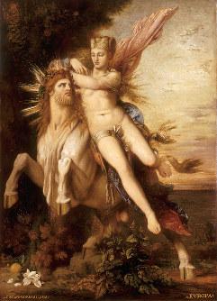 <エウロペの誘拐>1868年 油彩/カンヴァス ギュスターヴ・モロー美術館蔵