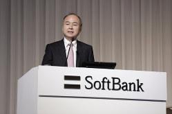 「スパークス・新・国際優良日本株ファンド」はソフトバンクグループを上位に組み入れる(孫正義社長)(Bloomberg)