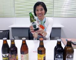 オヤジの酒と女性社長とのギャップが話題になった石渡美奈社長