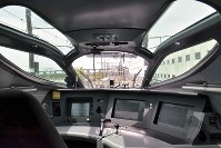 The cockpit of the