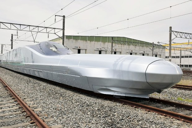 In Photos: Prototype of 'world's fastest' bullet train