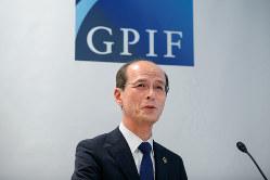 長期的な観点からリターンを狙うGPIFの高橋則広理事長(Bloomberg)