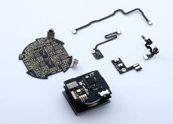 メトロサークを利用した電子基板(村田製作所提供)