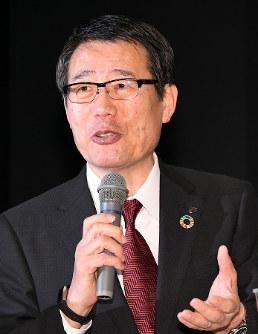 セブンーイレブン・ジャパンが社長昇任を発表した永松文彦氏