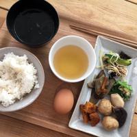 味で徳島を知る。東京のホステルで徳島産食材オンリーの朝食