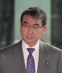 Foreign Minister Taro Kono (Mainichi/Masahiro Kawata)