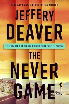This cover image released by G.P. Putnam's Sons shows 'The Never Game' by Jeffery Deaver. (G.P. Putnam's Sons via AP)