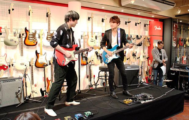 フェンダー」公式ショップ:ギター、自分好みに注文も アジア初